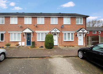 Thumbnail 2 bed terraced house to rent in Hollymead Close, Colchester, Essex