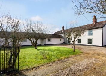 Thumbnail 4 bed detached house for sale in Crown Road, Old Buckenham, Attleborough