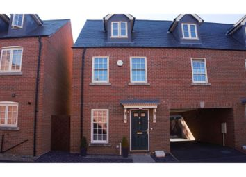 Thumbnail 5 bed terraced house for sale in King Henry Chase, Peterborough
