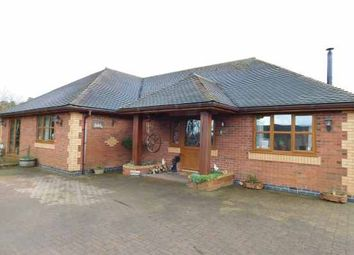 Thumbnail 3 bed detached bungalow for sale in Melrose Avenue, Stoke-On-Trent, Staffordshire