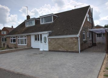 Thumbnail 3 bed semi-detached house for sale in Truro Drive, Wigston