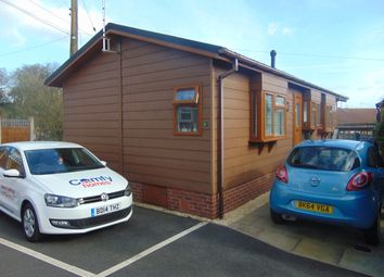 Thumbnail 2 bed mobile/park home for sale in The Glen, Linthurst Newton, Blackwell, Bromsgrove