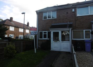 Thumbnail 2 bed property to rent in Underhill Close, Derby