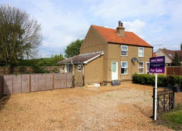 Thumbnail 2 bed semi-detached house for sale in Great Fen Road, Soham, Ely