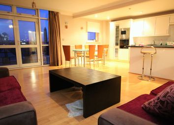 Thumbnail 2 bed flat to rent in Langbourne Place, Docklands