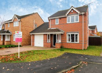 Thumbnail 3 bedroom detached house for sale in Sorrel Way, Scunthorpe