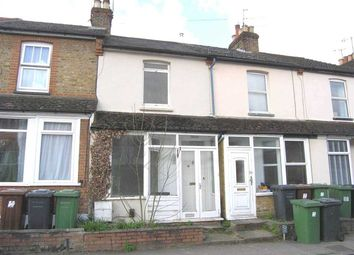 Thumbnail 2 bed terraced house for sale in Vale Road, Bushey WD23.