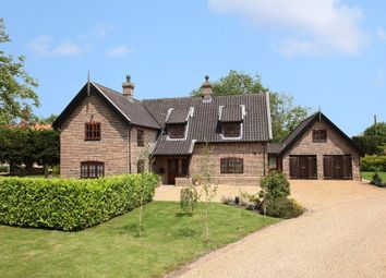 Thumbnail 4 bed detached house for sale in Saham Toney, Thetford
