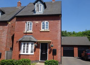 Thumbnail 4 bed detached house for sale in Millfield Avenue, Countesthorpe, Leicestershire