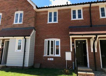 Thumbnail 2 bed terraced house to rent in Regal Gardens, Framlingham, Woodbridge