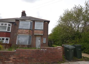 Thumbnail 4 bedroom flat for sale in Brancepeth Avenue, Benwell, Newcastle Upon Tyne