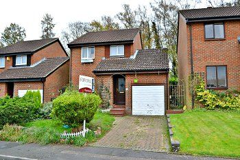 Thumbnail 3 bed detached house for sale in Chevening Close, Tollgate Hill, Crawley, West Sussex