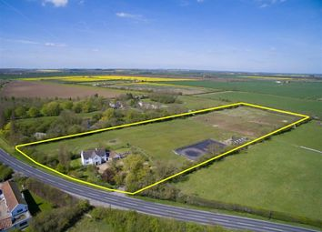 Thumbnail 4 bed equestrian property for sale in Market Rasen Road, Dunholme