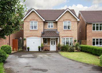 Thumbnail 4 bedroom detached house for sale in Dartington Road, Platt Bridge, Wigan