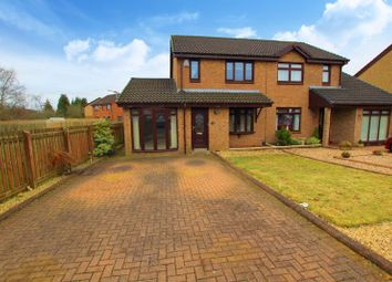 Thumbnail 3 bed semi-detached house for sale in Kennedy Gardens, Overtown, Wishaw