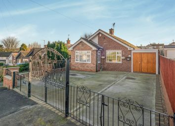 Thumbnail 3 bed detached bungalow for sale in Norman Drive, Eastwood, Nottingham