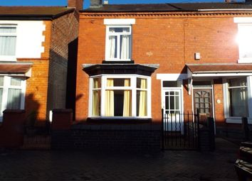 Thumbnail 2 bed end terrace house to rent in Yates Street, Crewe