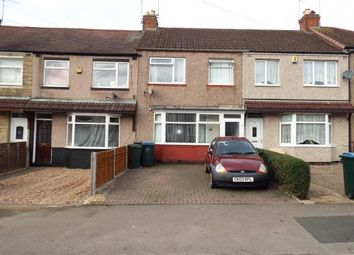Thumbnail 3 bedroom terraced house for sale in Lauderdale Avenue, Holbrooks, Coventry, West Midlands