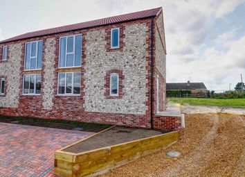 Thumbnail 3 bedroom semi-detached house for sale in Barkers Drive, Feltwell, Thetford