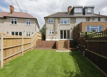 Thumbnail 3 bed semi-detached house for sale in Ridding Lane, Sudbury Hill, Harrow
