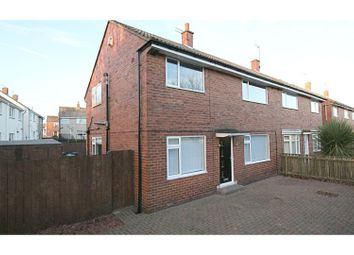 Thumbnail 3 bed semi-detached house for sale in Grassbanks, Gateshead