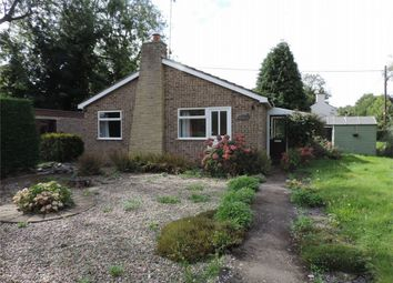 Thumbnail 3 bed detached bungalow to rent in Kirkby Underwood Road, Aslackby, Sleaford, Lincolnshire