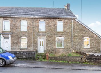 Thumbnail 3 bedroom terraced house for sale in Cefn Road, Bonymaen, Swansea
