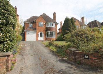Thumbnail 4 bed detached house for sale in St. Helens Road, Solihull