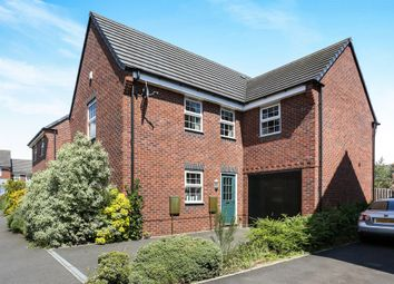 Thumbnail 4 bed detached house for sale in Marnham Road, West Bromwich