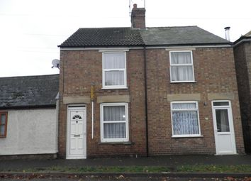 Thumbnail 2 bed terraced house to rent in Benwick Road, Doddington, March
