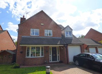 Thumbnail 4 bed detached house to rent in Durrell Drive, Cawston, Rugby