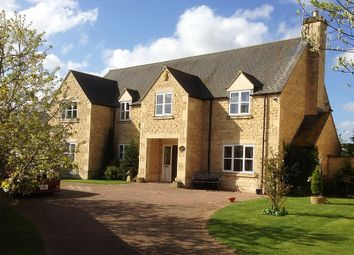 Thumbnail 5 bed detached house for sale in Alston Court, Langtoft, Market Deeping, Lincolnshire