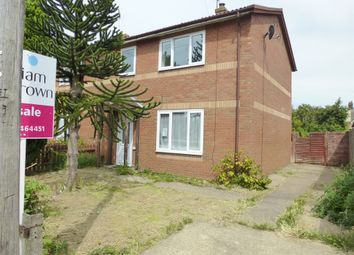 Thumbnail 3 bed end terrace house for sale in Edinburgh Drive, Wisbech
