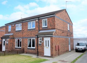Thumbnail 3 bed semi-detached house for sale in Howden Way, Wakefield