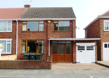 Thumbnail 3 bed semi-detached house to rent in Babbacombe Road, Styvechale, Coventry