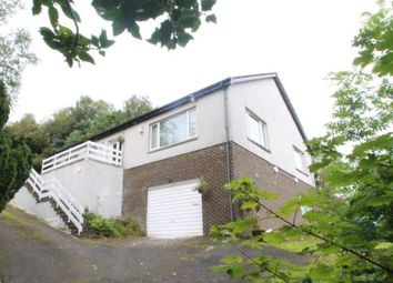 Thumbnail 4 bed detached house for sale in Back Road, Clynder, Helensburgh, Argyll And Bute