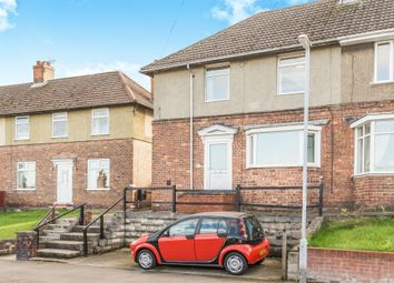 Thumbnail 3 bed semi-detached house for sale in Hollingwood Crescent, Hollingwood, Chesterfield