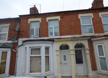 Thumbnail 3 bed terraced house for sale in Ruskin Road, Kingsthorpe, Northampton, Northamptonshire