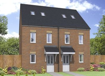 "Thumbnail 3 bed terraced house for sale in ""The Moseley"" at Buckingham Court, Harworth, Doncaster"
