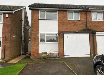 Thumbnail 3 bed semi-detached house to rent in School Lane, Burntwood
