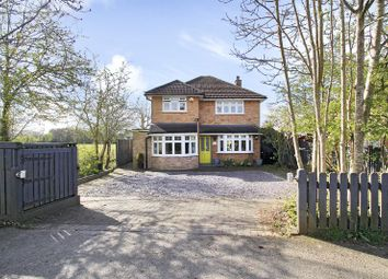 Thumbnail 3 bed detached house for sale in Plough Road, Smallfield, Horley, Surrey