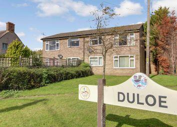 Thumbnail 1 bed flat for sale in Duloe Road, Duloe Village, St Neots