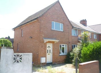 Thumbnail 2 bed end terrace house to rent in Ashburton Road, Southmead, Bristol