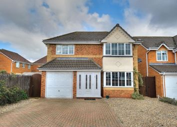 Thumbnail 4 bed detached house for sale in Shillgate Way, Norwich