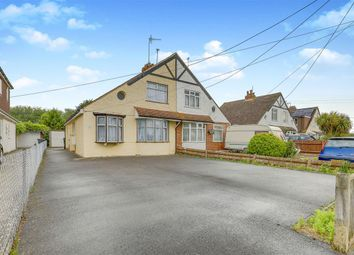Thumbnail 3 bed bungalow for sale in Broad Road, Willingdon, Eastbourne