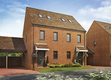 "Thumbnail 3 bed semi-detached house for sale in ""The Moseley"" at Southfleet Road, Swanscombe"