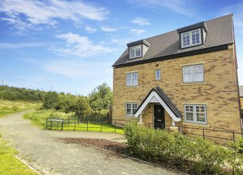 Thumbnail 4 bed detached house for sale in Viscount Close, Shiremoor, Newcastle Upon Tyne