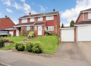 Thumbnail 3 bedroom semi-detached house for sale in Langdale Road, Dunstable