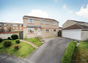 Thumbnail 4 bedroom detached house for sale in Locksgreen Crescent, Swindon