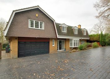 Thumbnail 5 bedroom detached house for sale in St. Catherines Road, Frimley Green